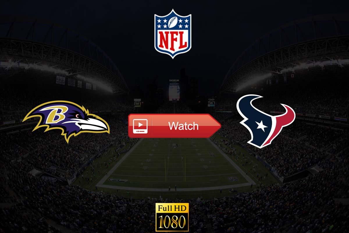 Ravens vs Texans live stream reddit