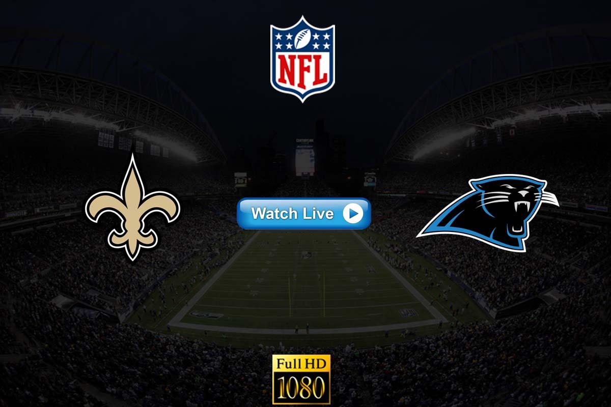 Saints vs Panthers live streaming reddit