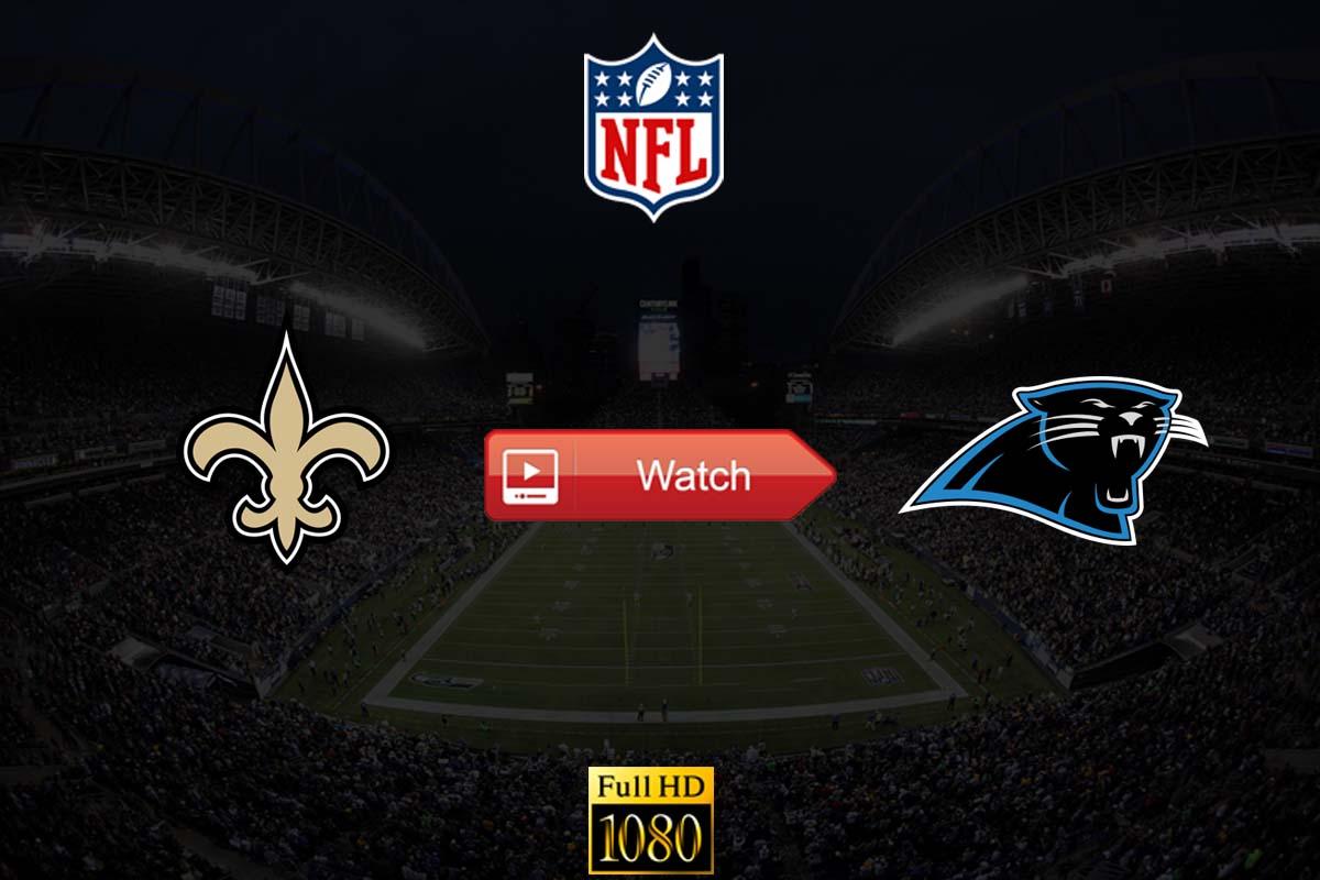 Saints vs Panthers live stream reddit