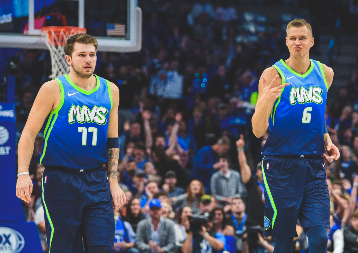 Look: Mavericks show off brand-new Nike 'City Edition' jerseys during Clippers game