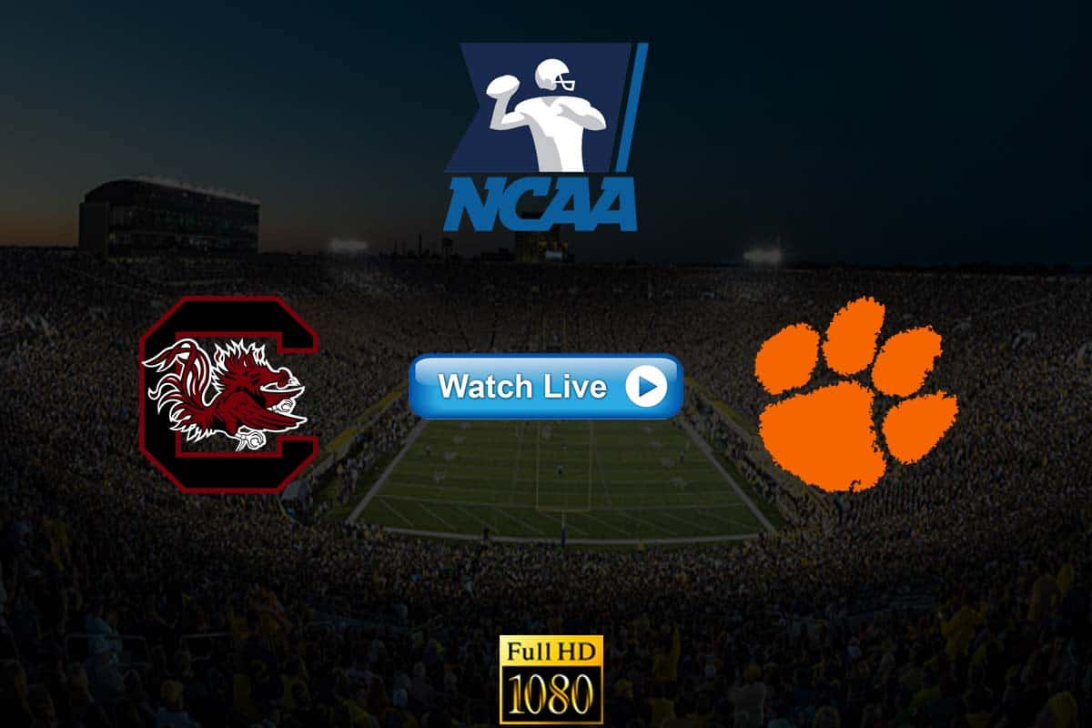 Clemson vs South Carolina live stream Reddit