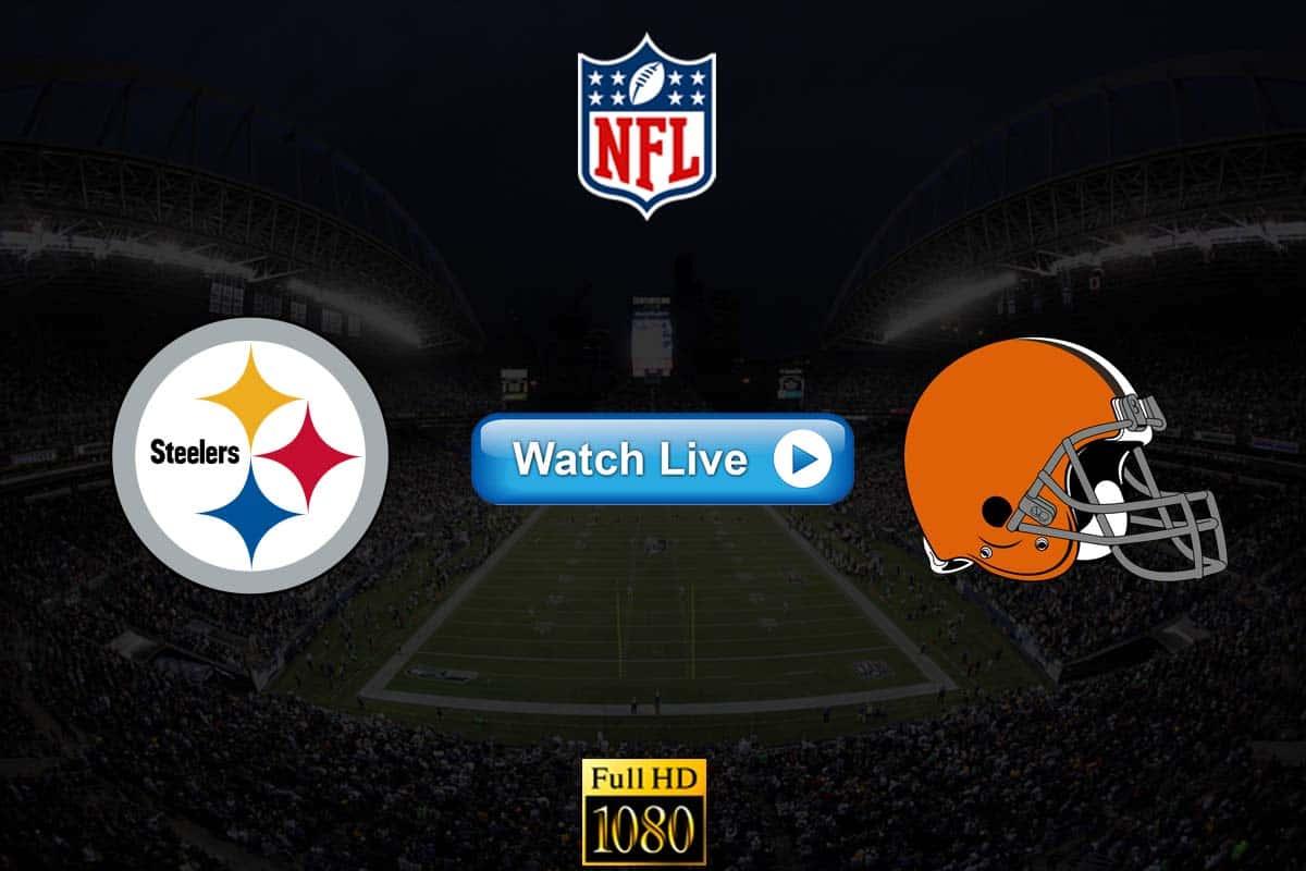 Steelers vs Browns live streaming Reddit