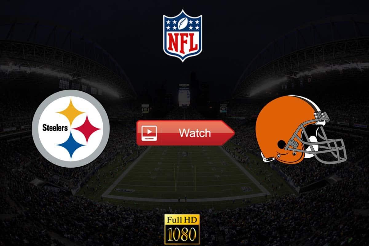 Steelers vs Browns live stream Reddit