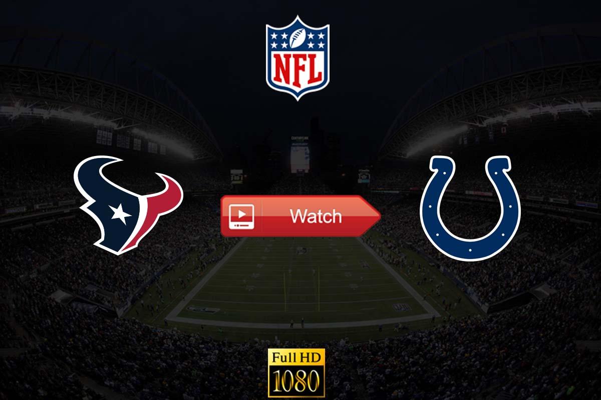 Texans vs Colts live stream reddit