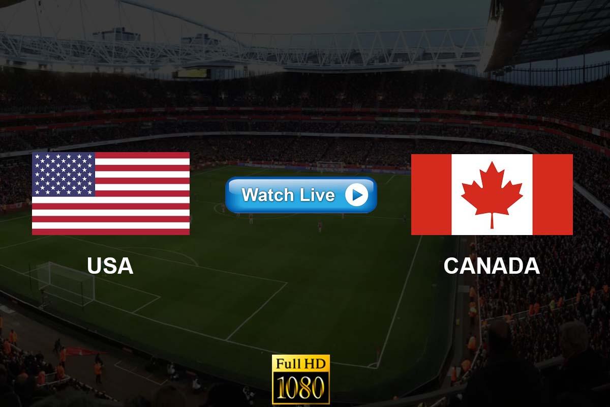USA vs Canada live streaming reddit