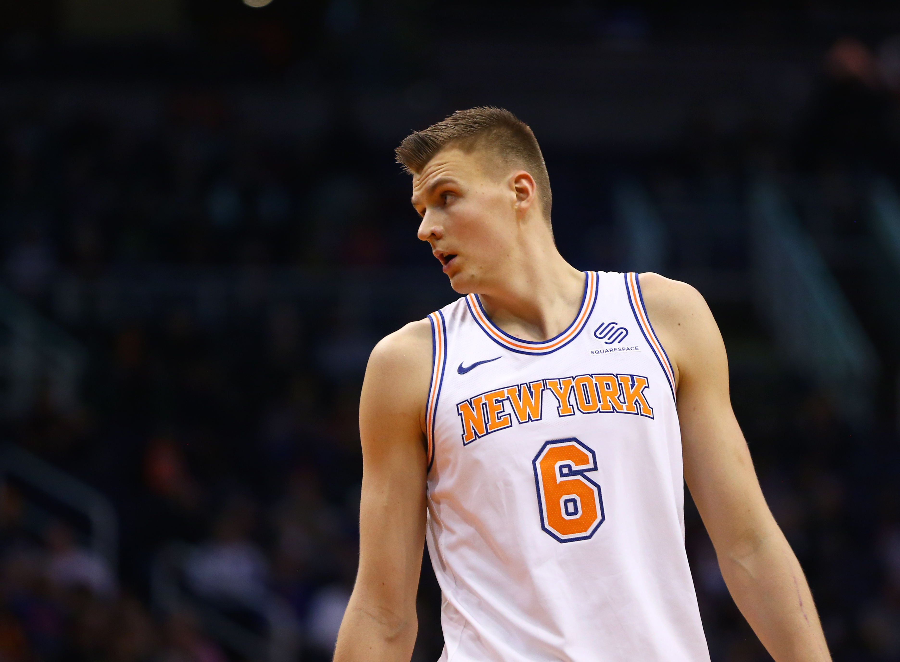 Knicks passed up 'trove of assets' from Celtics in 2017 for Kristaps Porzingis