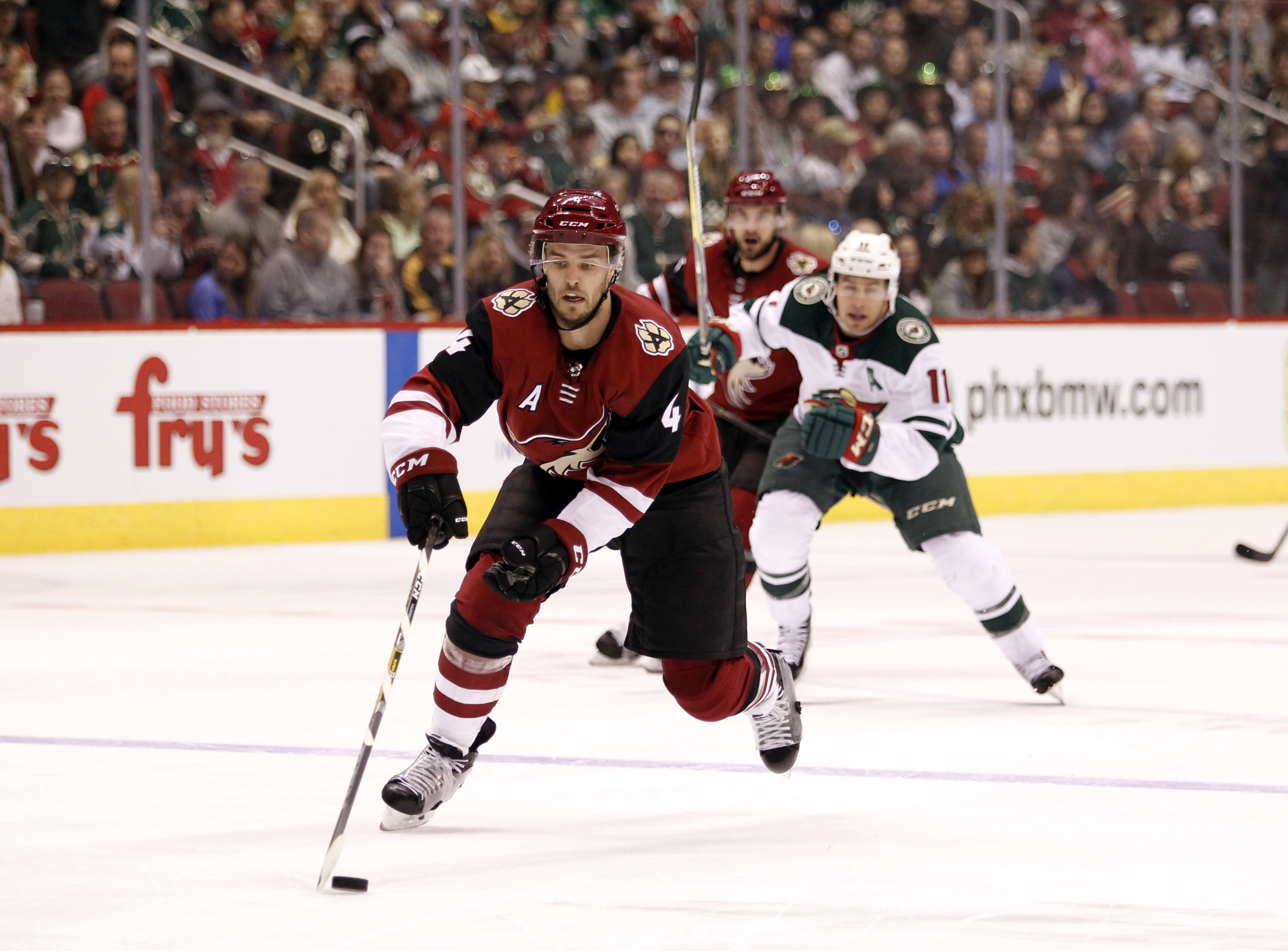 Minnesota Resilient in 4-3 Victory Over Arizona