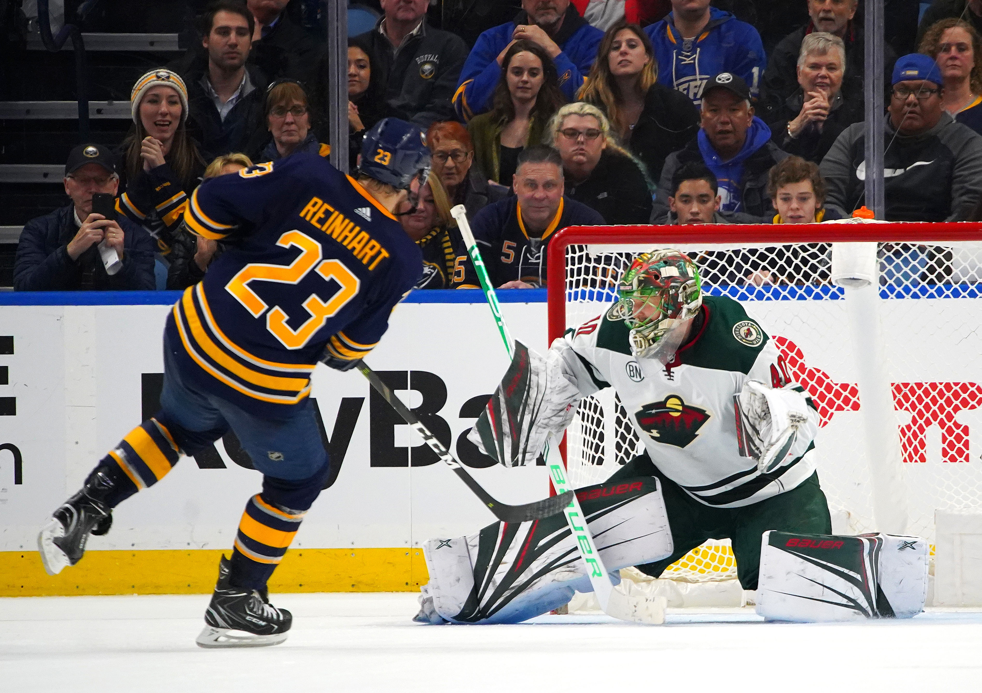 Game Preview: Minnesota Wild vs. Buffalo Sabres 11/19/19 @ 6:00PM CST at KeyBank Center