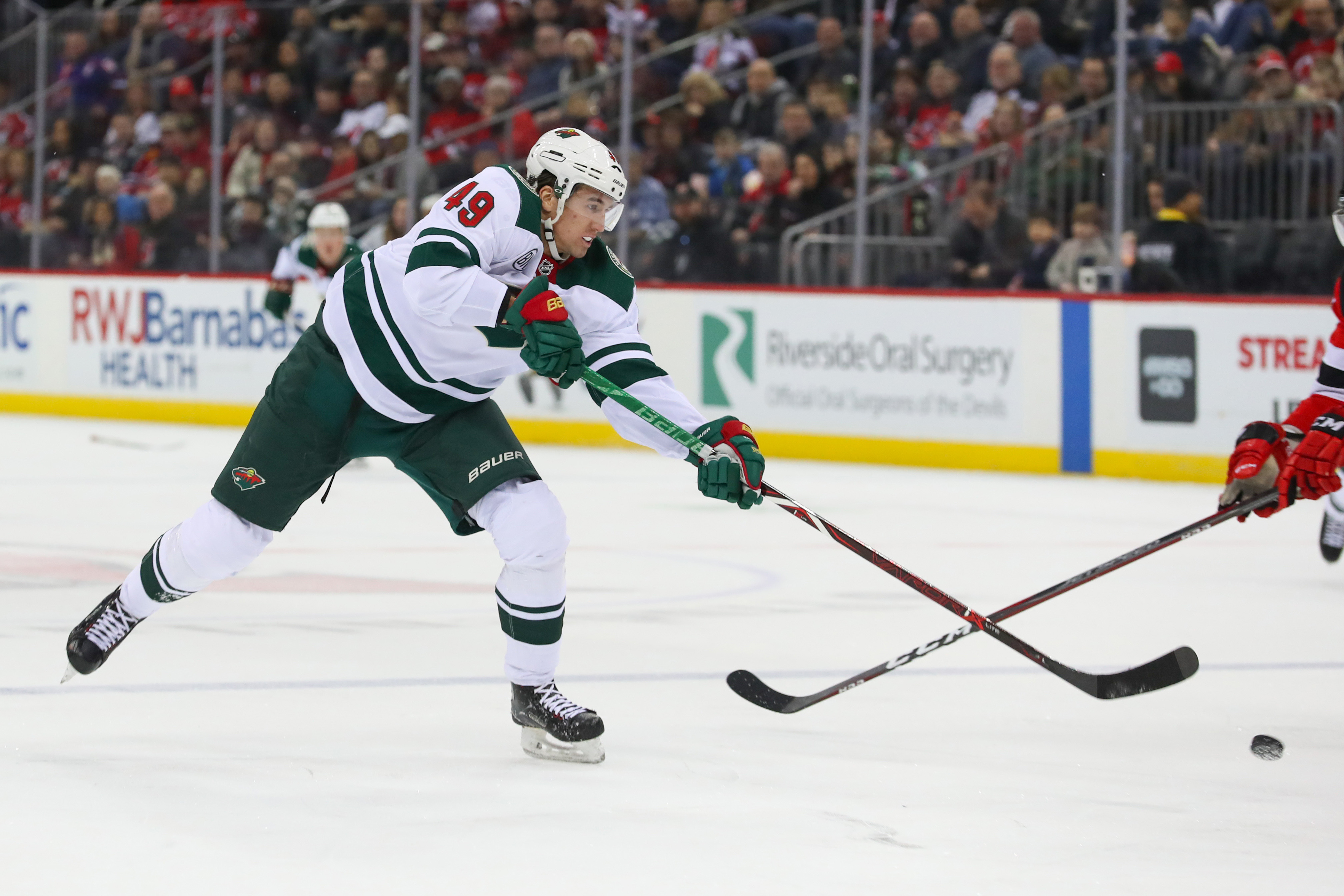 Wild Overcome a Controversial New Jersey Goal to Earn a 3-2 Victory