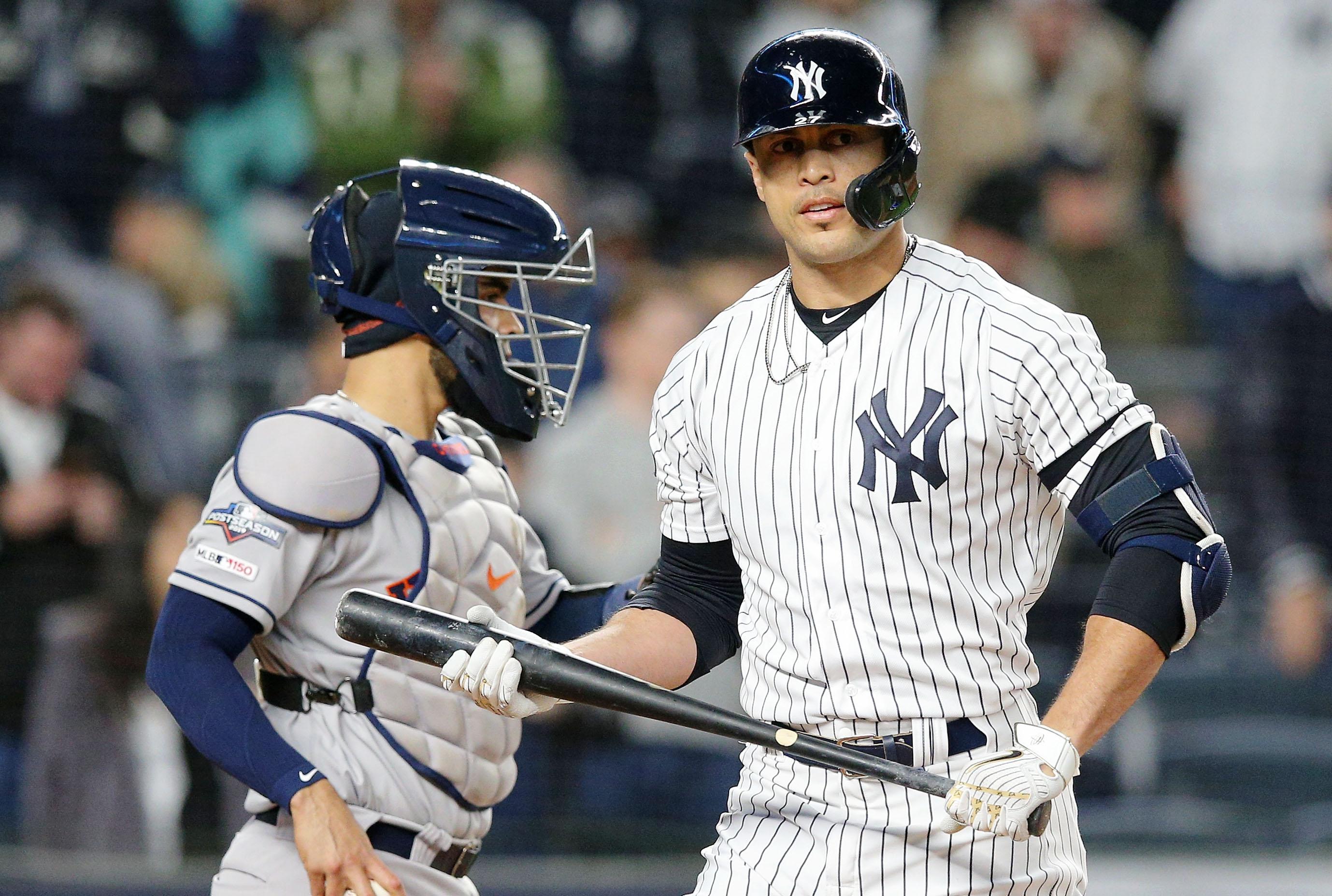 Giancarlo Stanton lobbies for Yankees to sign both Stephen Strasburg, Gerrit Cole