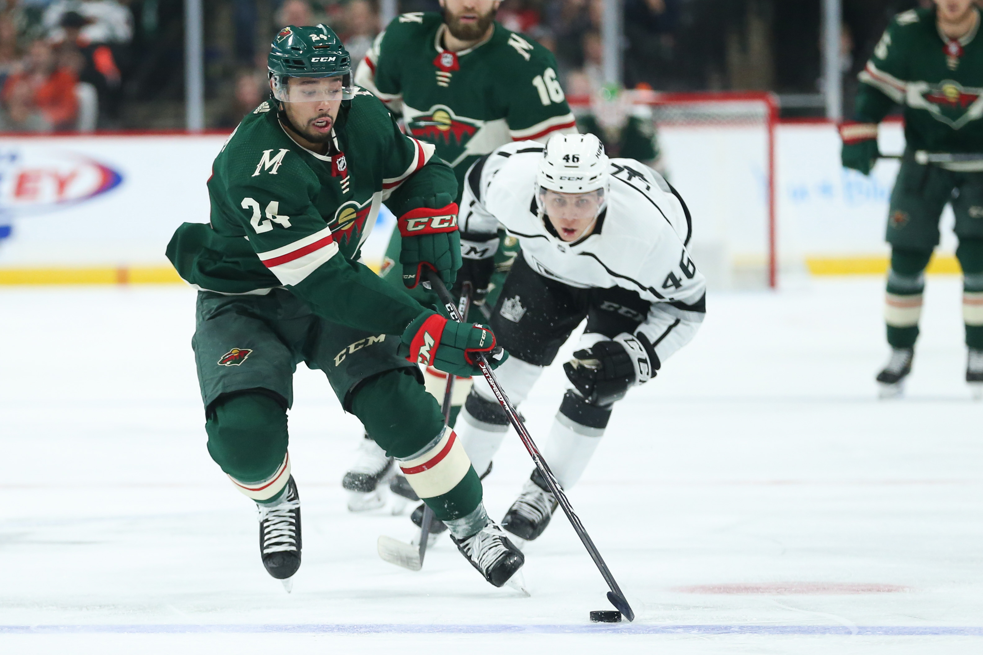Wild Run Out of Gas in 3-1 Loss to the Kings