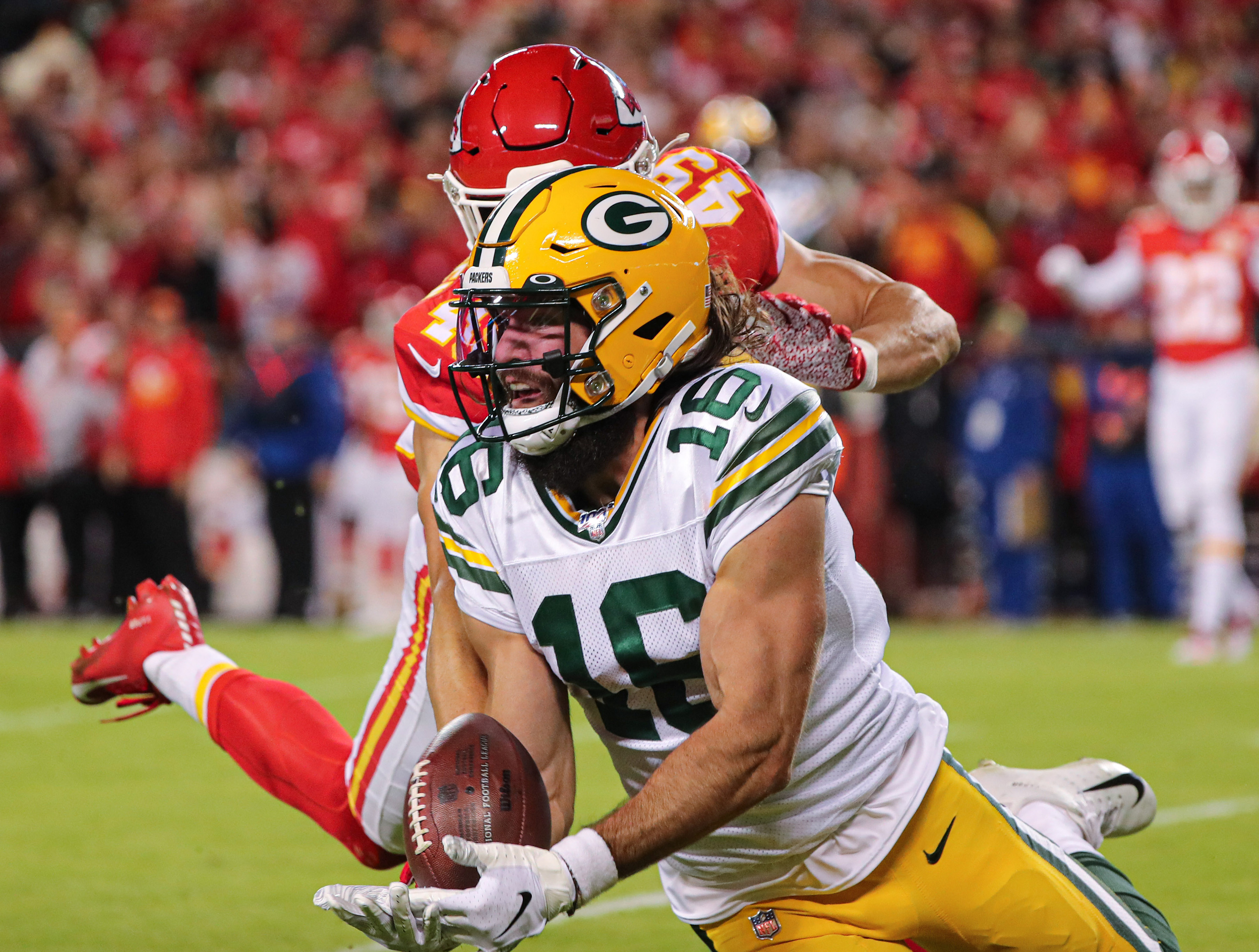 Which Packers' Receivers Should Get the Most Playing Time Down the Stretch?