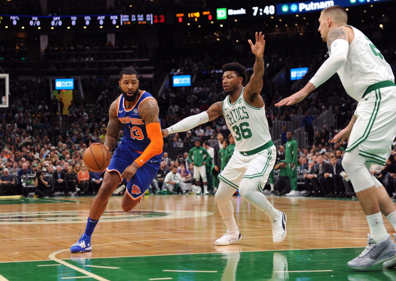 Rapid Recap: Celtics grind out narrow W against Flask Dad and the Knicks