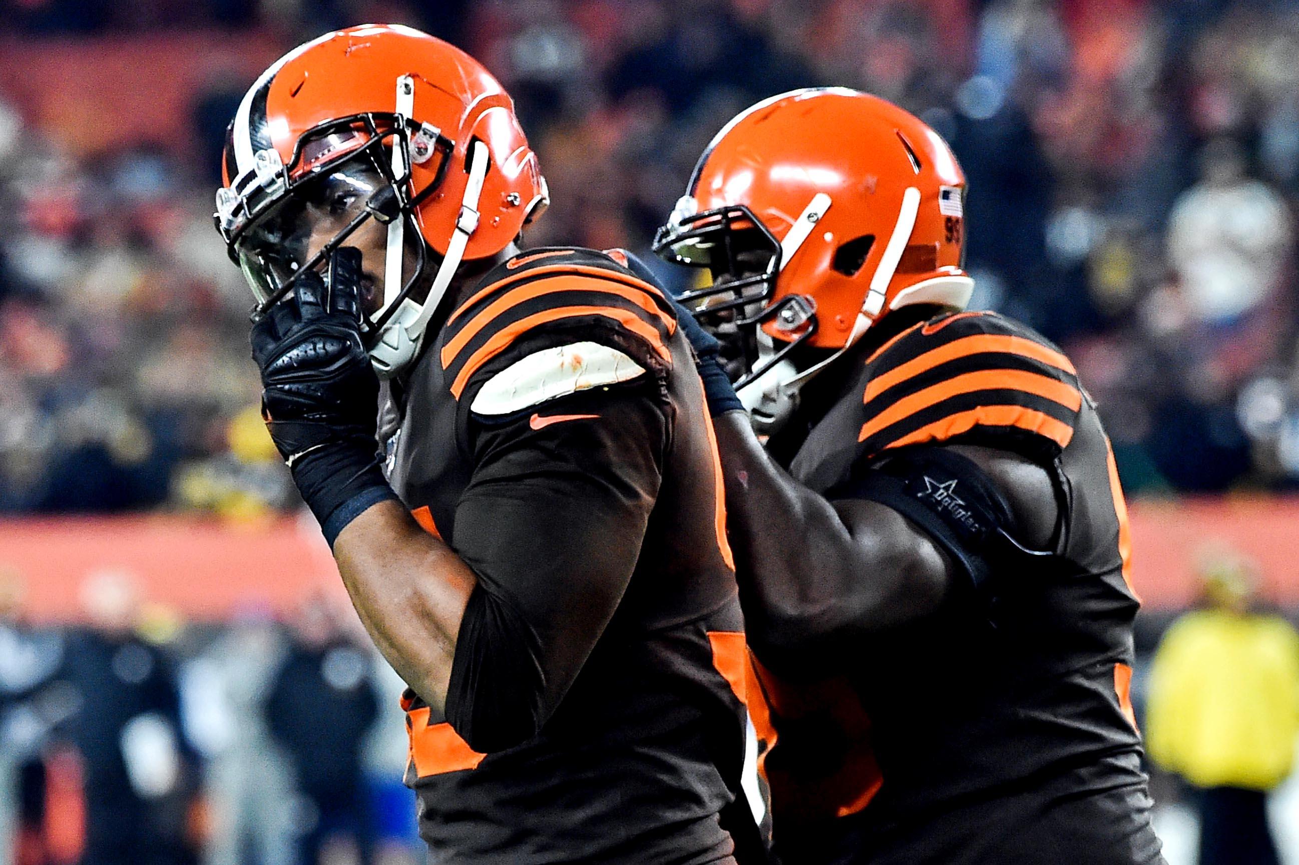 Browns' future Myles Garrett helmet giveaway becomes epic fail