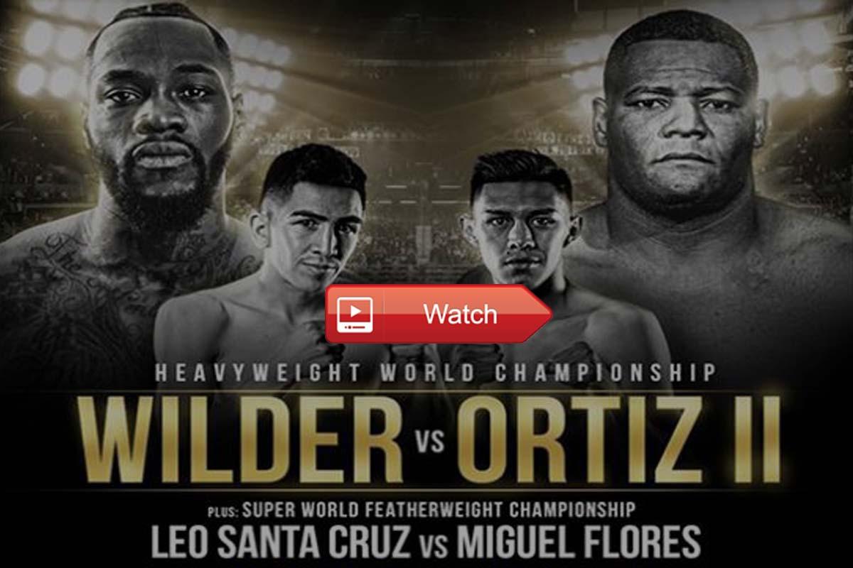 Wilder vs Ortiz live stream reddit