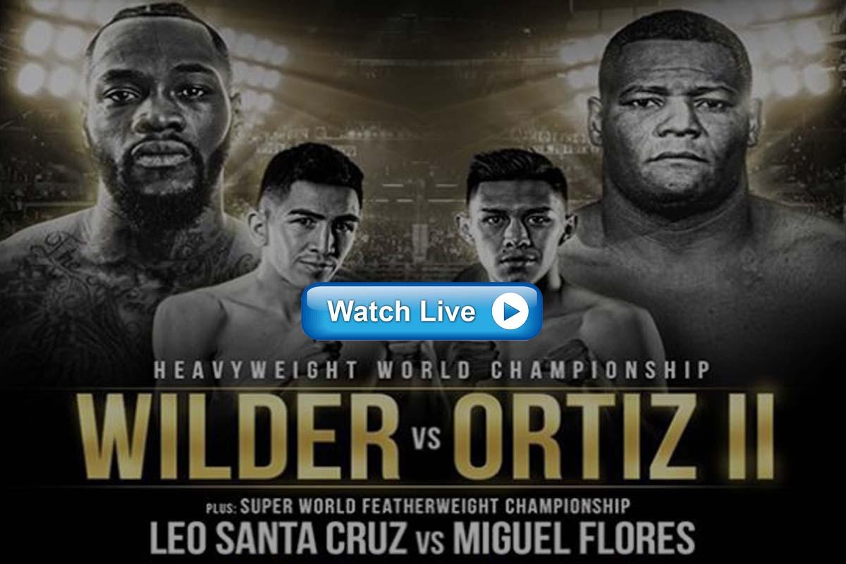 Wilder vs Ortiz live streaming reddit