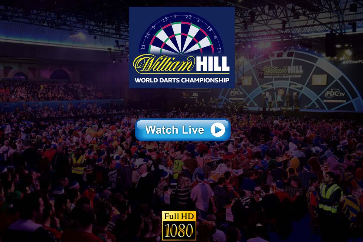PDC World Darts Championship live streaming Reddit