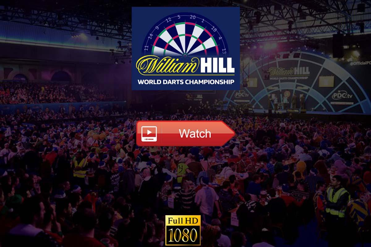 PDC World Darts Championship live stream Reddit