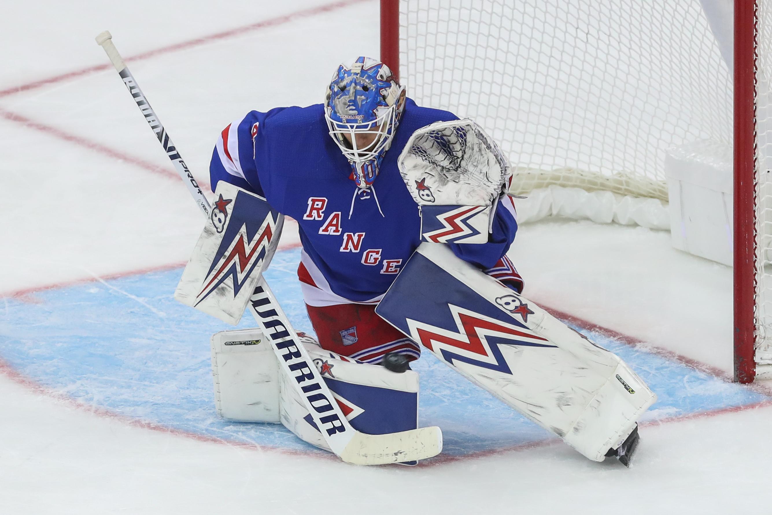 Alexandar Georgiev records third career NHL shutout