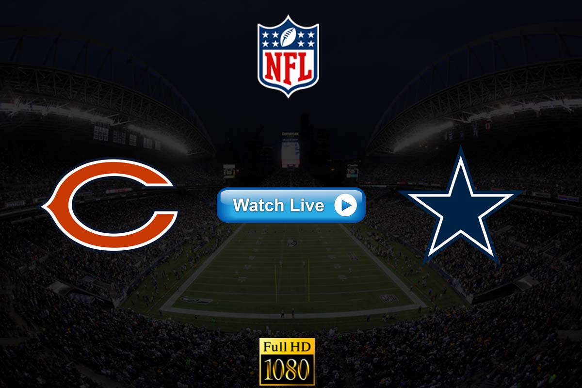 Bears vs Cowboys live streaming Reddit