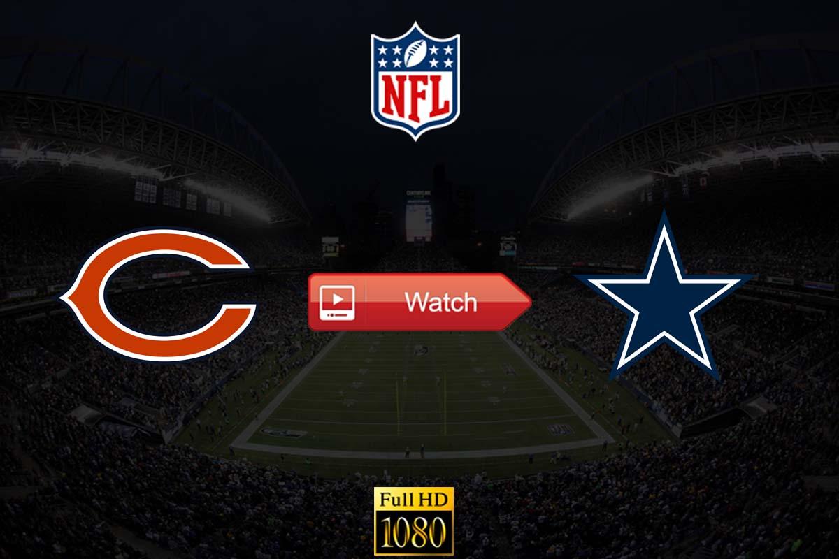 Bears vs Cowboys live stream Reddit