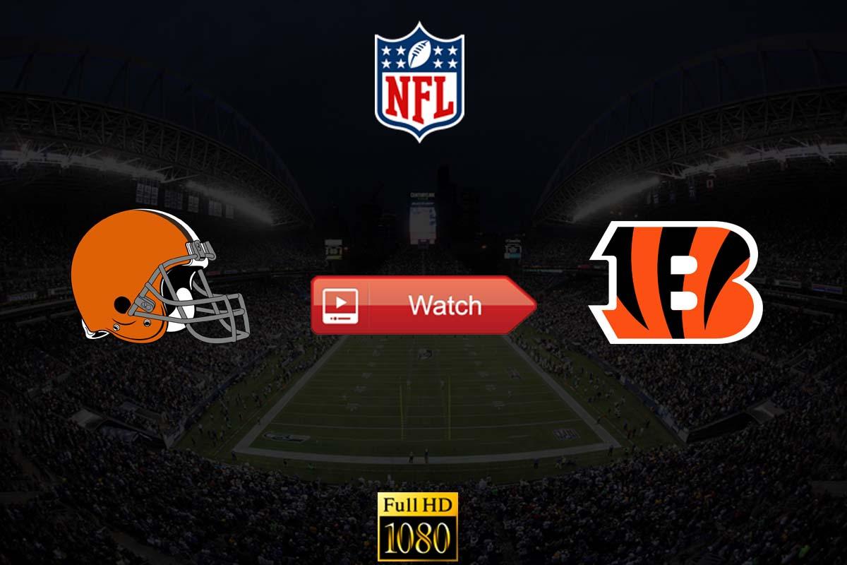 Browns vs Bengals live stream Reddit