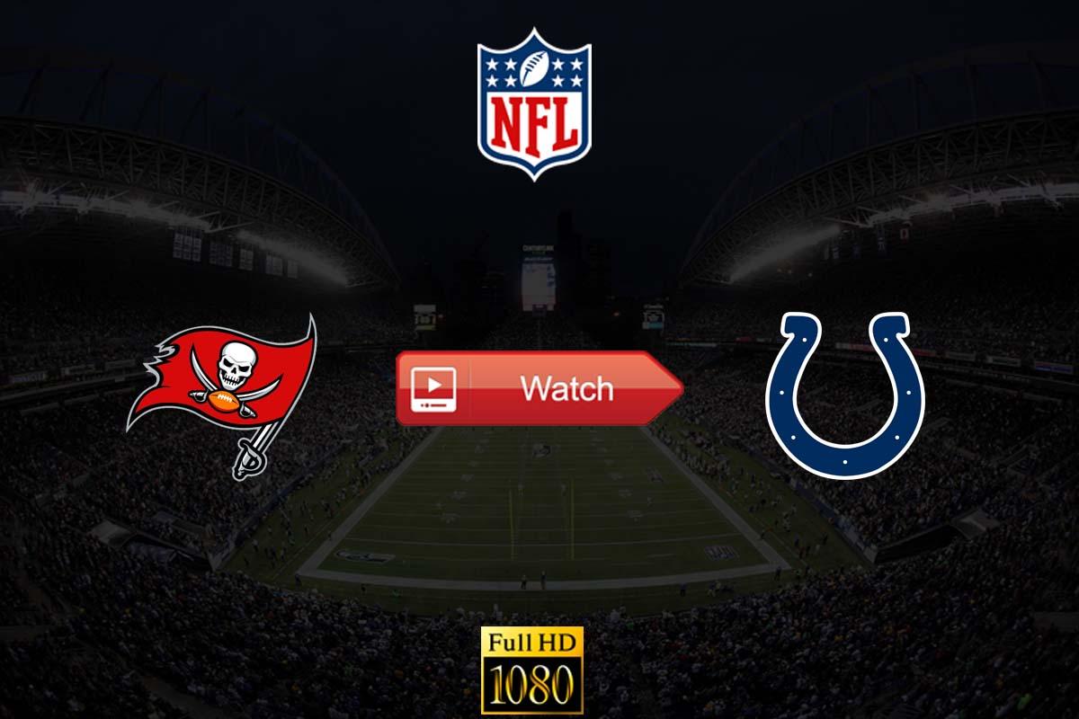 Buccaneeers vs Colts live stream reddit