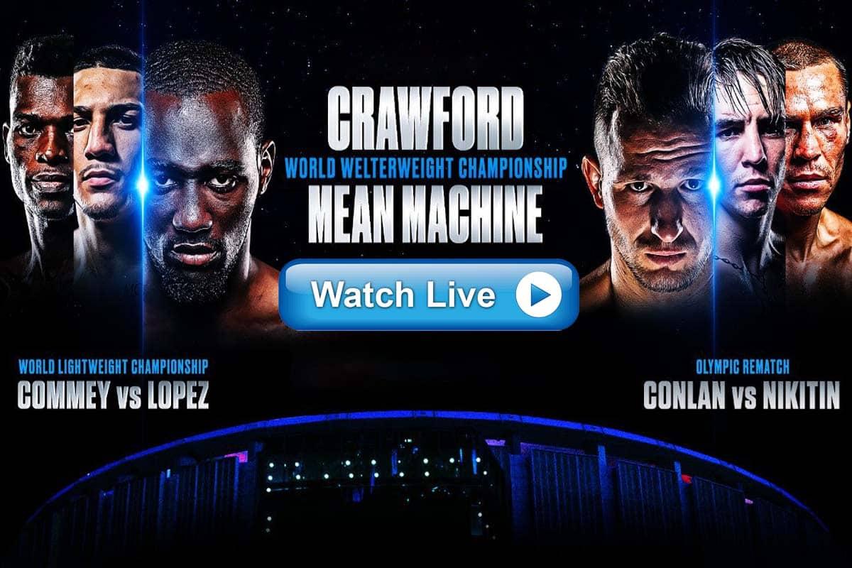 Crawford vs Kavaliauskas live streaming Reddit