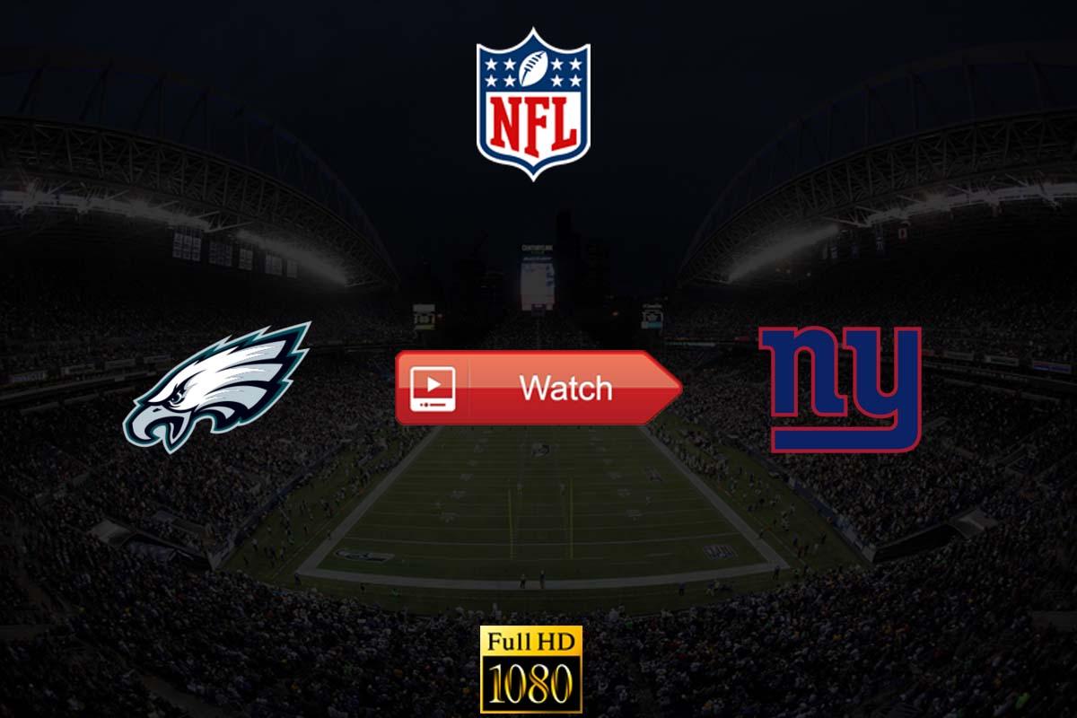 Eagles vs Giants live stream Reddit