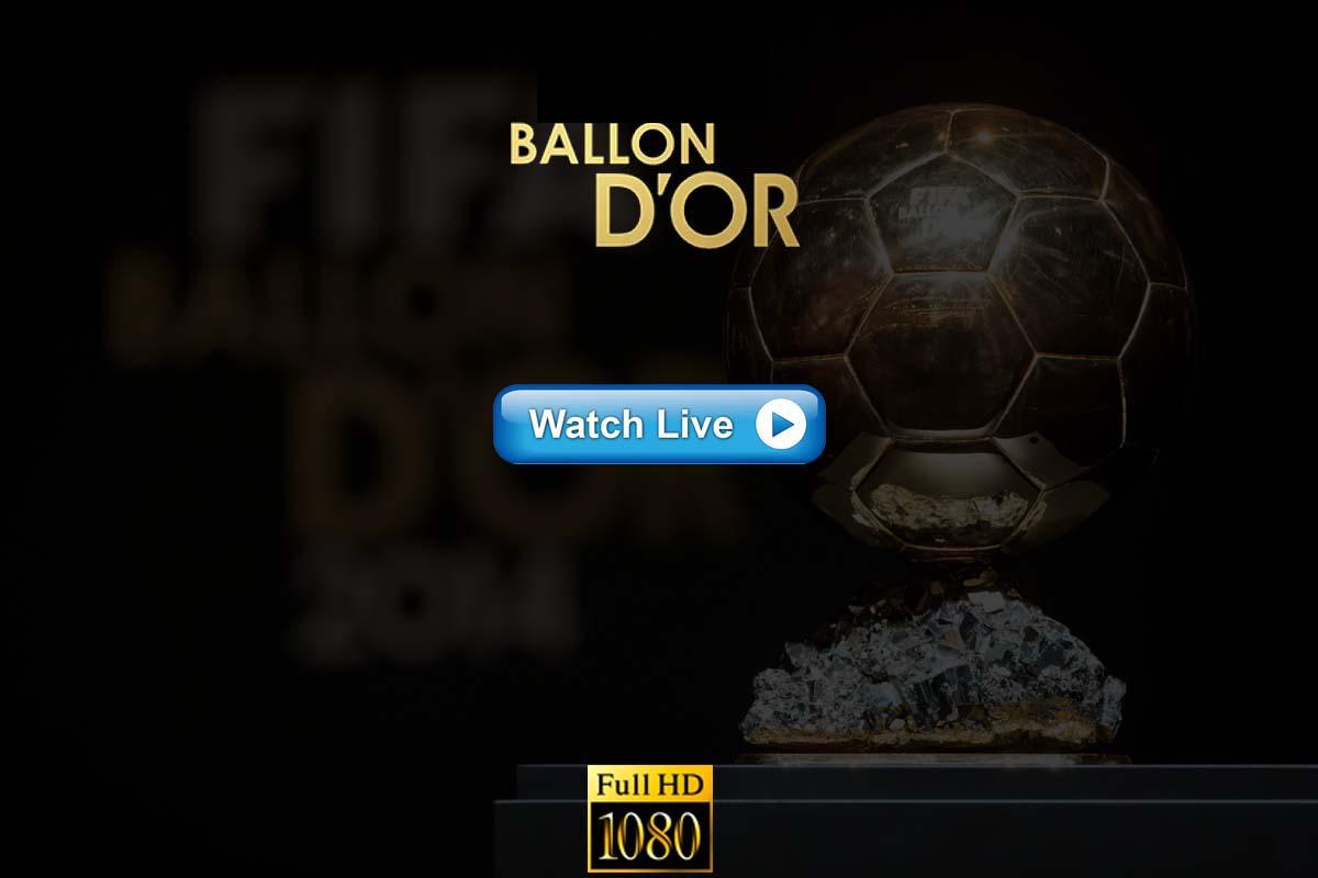 Ballon d'Or live streaming Reddit