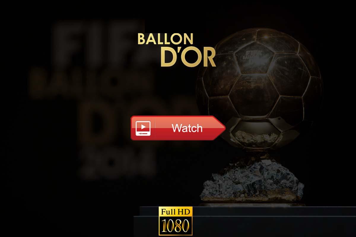 Ballon d'Or live stream Reddit