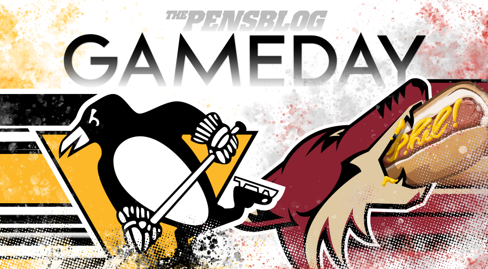 Gameday 29: Penguins vs. Arizona