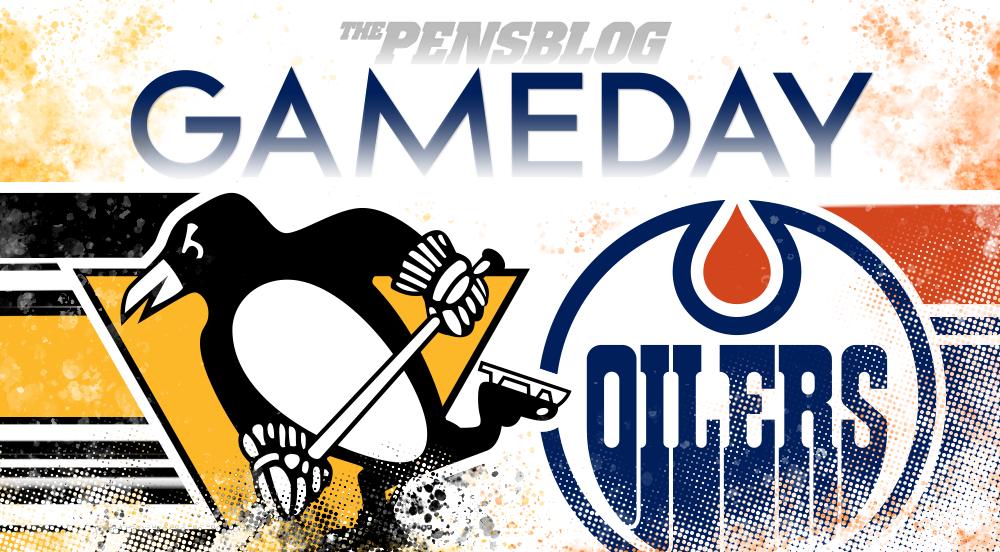 Gameday 35: Penguins @ Oilers