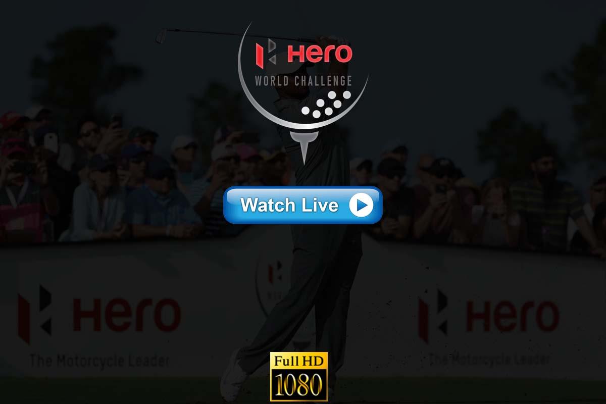 Hero World Challenge Golf live streaming