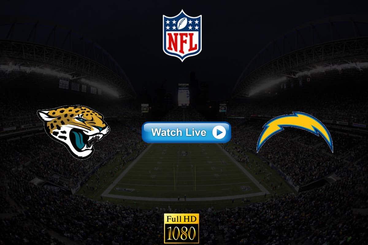 Jaguars vs Chargers live streaming Reddit