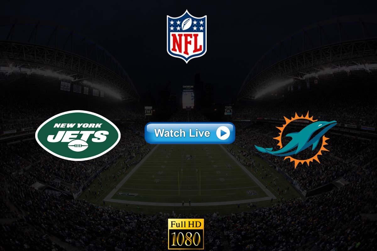 Jets vs Dolphins live streaming Reddit