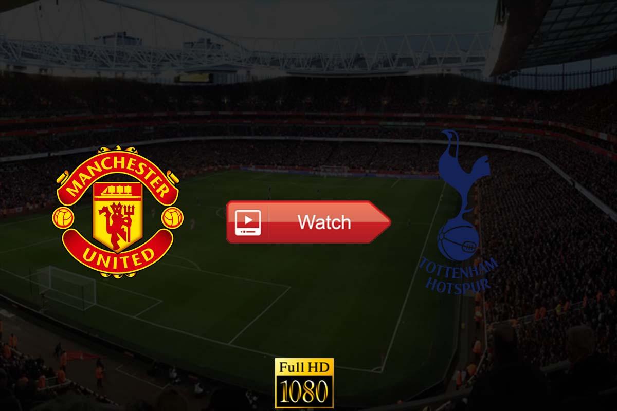 Manchester United vs Tottenham live stream Reddit