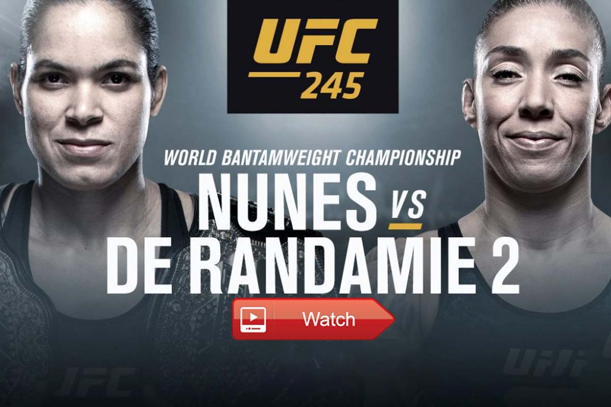 Nunes vs Randamie live stream Reddit
