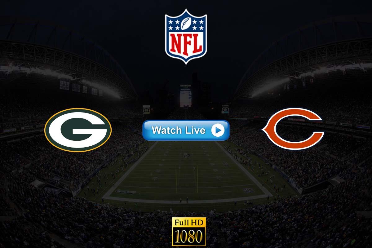 Packers vs Bears live streaming reddit
