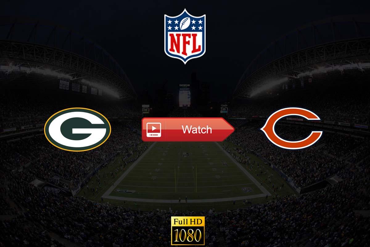 Packers vs Bears live stream reddit