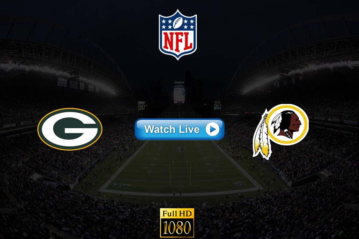 Packers vs Redskins live streaming Reddit