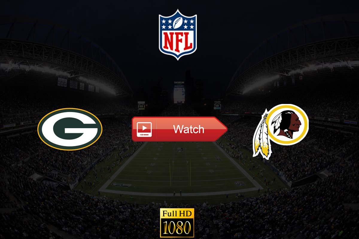 Packers vs Redskins live stream Reddit