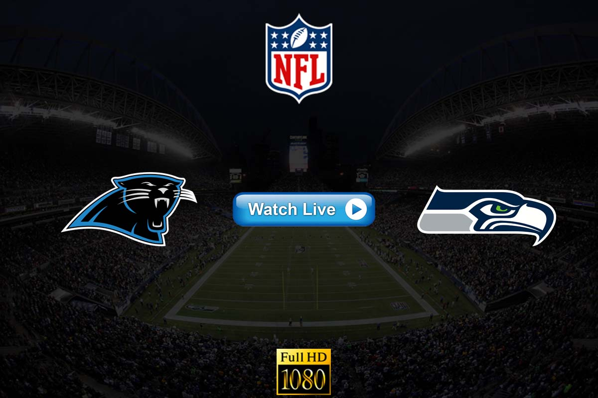 Panthers vs Seahawks live streaming Reddit