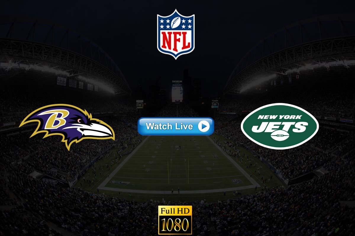 Ravens vs Jets live streaming Reddit