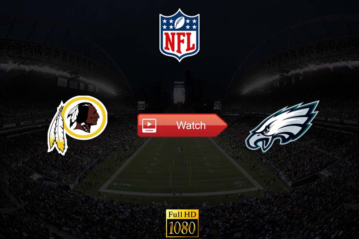 Redskins vs Eagles live stream Reddit