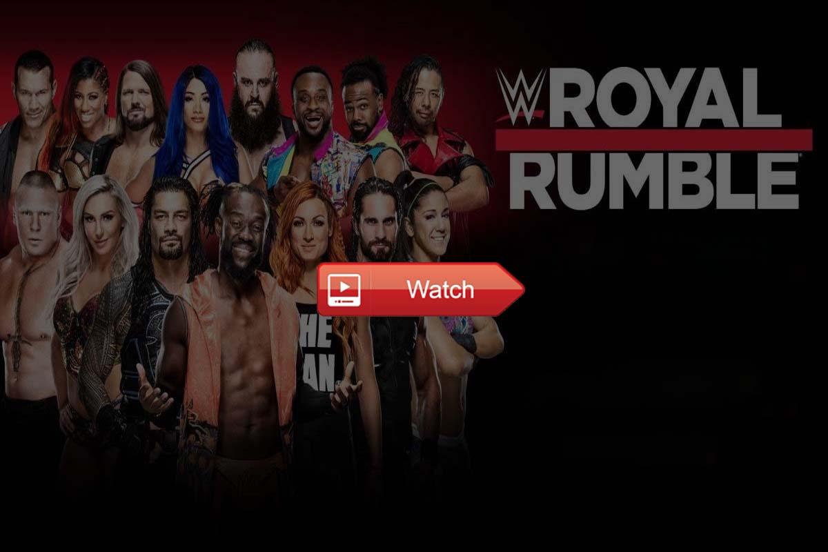 WWE Royal Rumble live stream Reddit