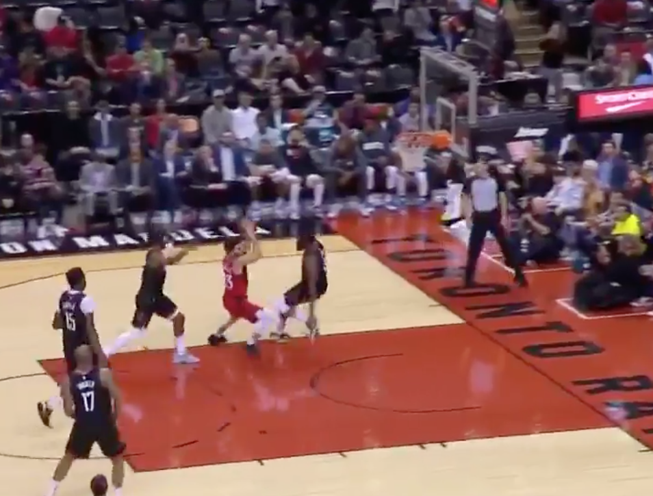 James Harden tries to flop his way into drawing call, fails miserably (Video)
