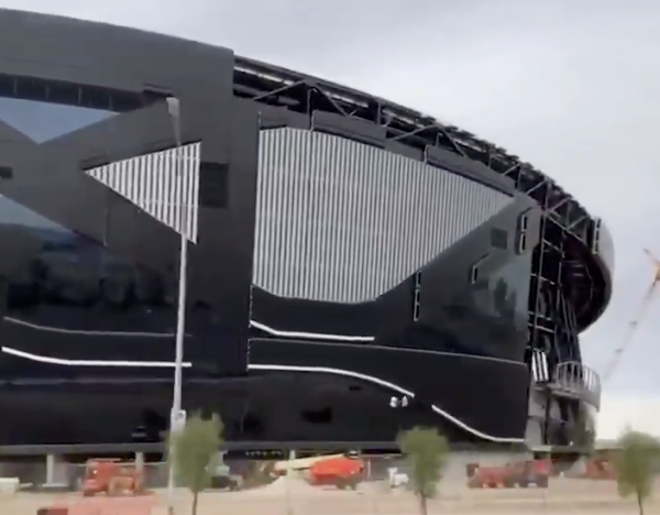 First look of Raiders' new Las Vegas stadium already drawing 'Star Wars' comparisons