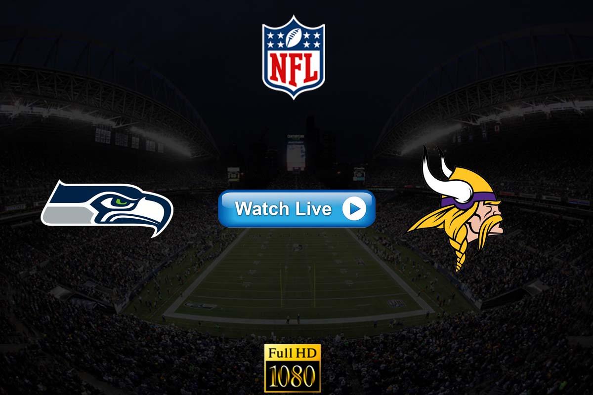 Seahawks vs Vikings live streaming Reddit