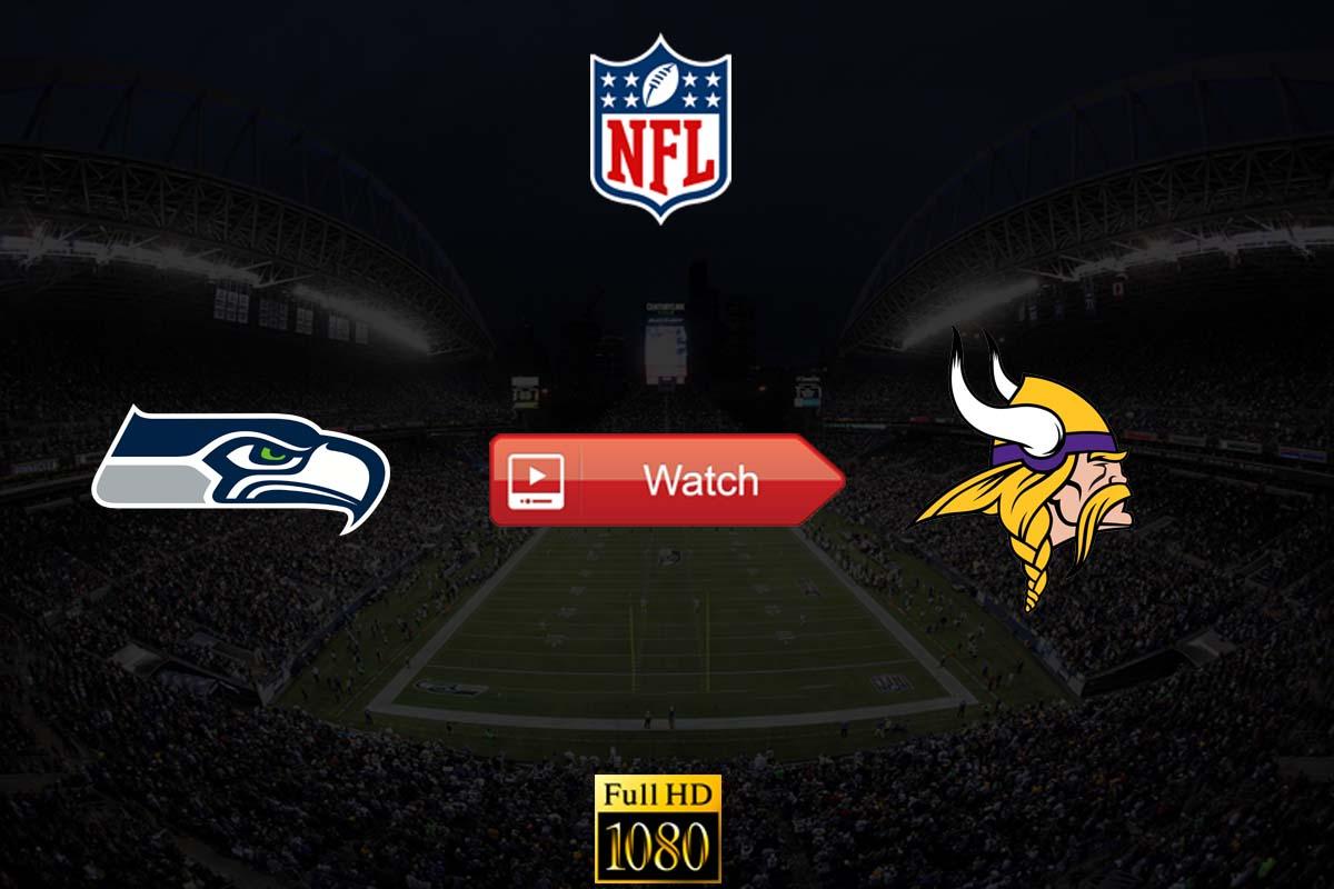 Seahawks vs Vikings live stream Reddit
